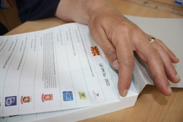 """In primary school """"Cvetan Dimov"""" in the Municipality of Berovo voting is carried out without numbers on the ballots"""