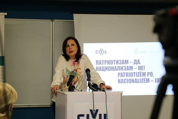 Smilevska: A patriot cannot be someone who has no opinion on the most important political issue!