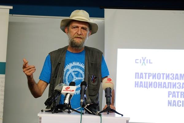 Georgievski: Patriotism is abstraction!