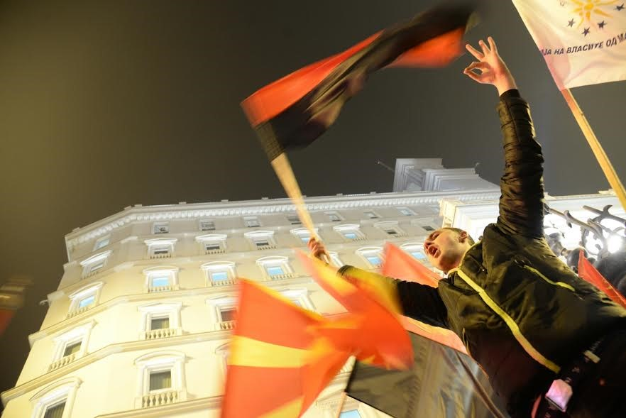 The palace of the richest party in Europe has frozen