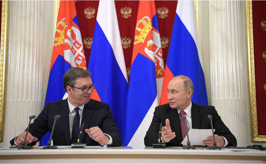 As Serbia strengthens ties with West, Russia seeks to destabilise