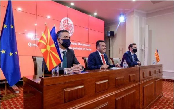 """Daily Brief: Zaev, Dimitrov and Osmani in online meeting with EU Commissioner Varhelyi, """"Europe is our home"""" in Prilep, Bitola, Novaci, Mogila and Resen…"""