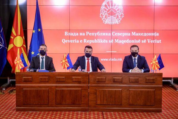 Zaev, Dimitrov, Osmani hold online meeting with EU's top diplomat Borrell