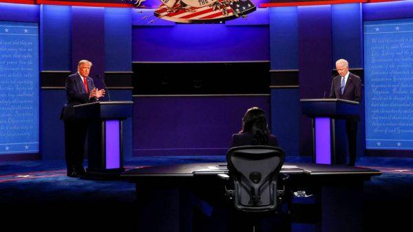 Final US presidential debate more civil as candidates make last pitch