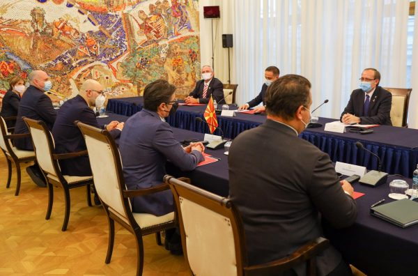 Pendarovski-Hoti: Pandemic not an obstacle for bilateral cooperation