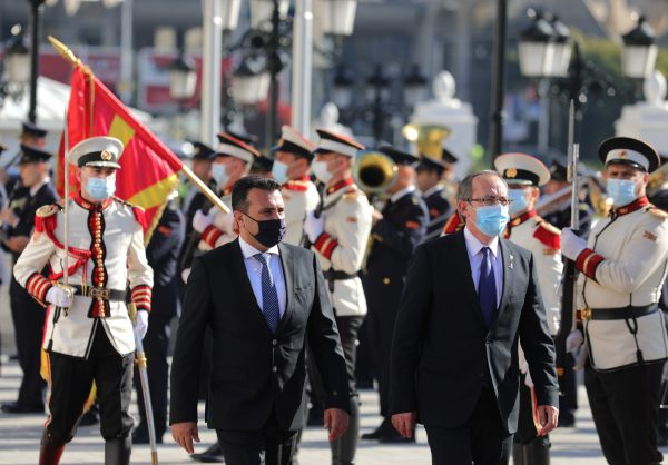Zaev-Hoti: Joint government session to give positive impulse in bilateral relations