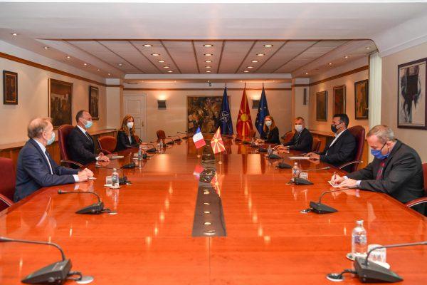 Zaev-Baumgartner: Support from France for the Euro-Atlantic integration