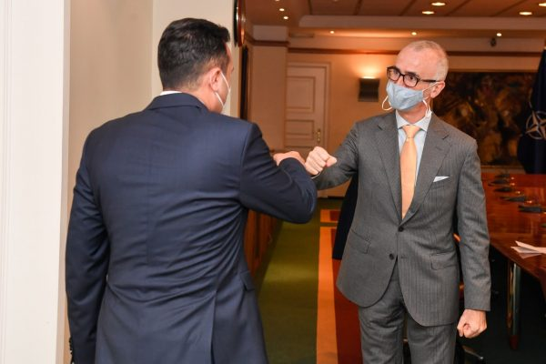 Zaev-Silvestri: North Macedonia belongs to Europe