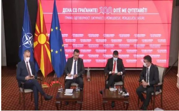 First 100 days of Government, Zaev replies to CIVIL MEDIA: I ask for support from the media for establishing a European model for defence against hybrid threats