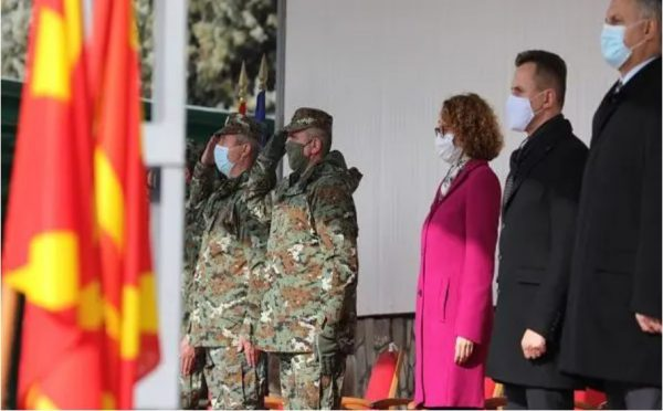 New professional soldiers join North Macedonia's Army