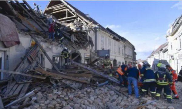 Croatia still shaking, some houses razed, chimneys falling