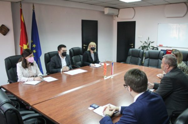 Bekteshi-Toman: Large potentials for North Macedonia-Czech Republic cooperation