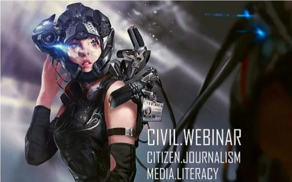 A program you must not miss: CIVIL Webinar on citizen journalism and media literacy